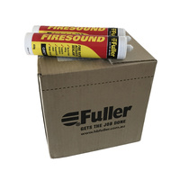 HB Fuller Firesound Fire Resistant Silicone Box of 20 Grey 450g Cartridges