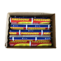 HB Fuller Firesound Silicone Grey 5 x Box of 15 (75 Sausages)