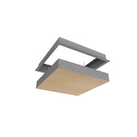 4 hour Screw Fixed Fire Rated Access Panel- Flanged edge frame