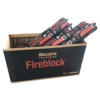 Selleys Fireblock 600ml Sausage BOX of 12