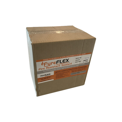 Trafalgar Fyre-Flex Sealant - BOX of 20 WHITE CARTRIDGES